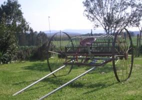 Máquina de trabajar el campo