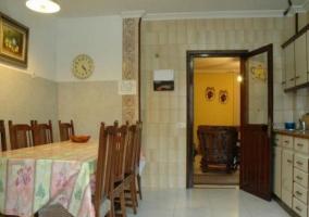 Cocina amplia y espaciosa