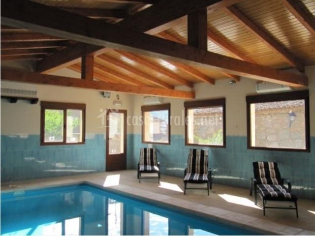 Casa de mar a en bonilla de la sierra vila for Casa rural con piscina cubierta