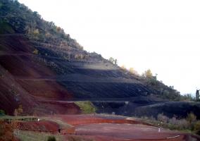 Detalle de los volcanes