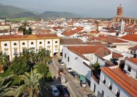 Zona del Palacio de los Duques de Feria