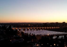 Zona del puente de Badajoz