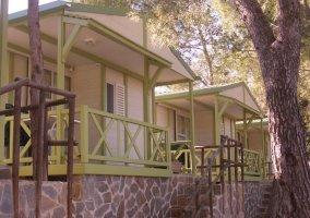Fachadas bungalows