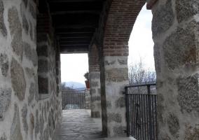 Terraza de piedra