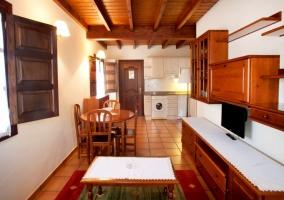 Cruz cocina y sala de estar
