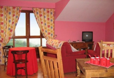La Panerona- Apartamento Rojo - Tineo, Asturias