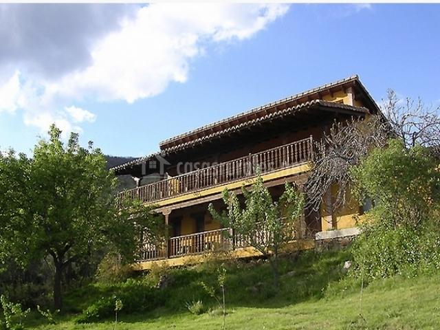 Casa rural la josa en candeleda vila - Casa rural valle del tietar ...