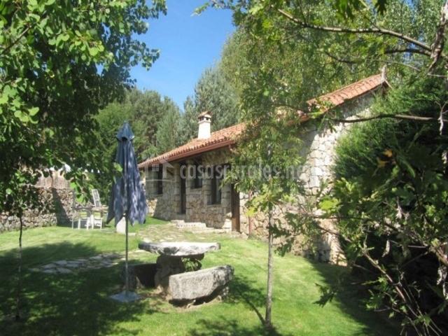 Casa rural cimera en hoyos del espino vila - Casas rurales en avila baratas ...