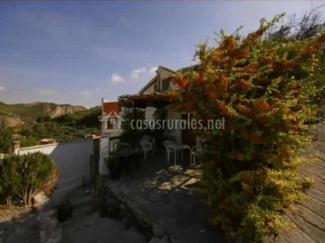 Alojamiento rural el concejo casas rurales en conchar for La casa de granada terraza