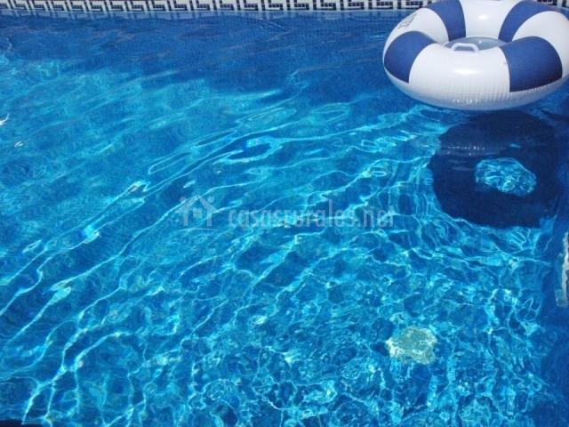 Hort del viver en san jorge castell n for Flotadores para piscina