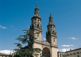 Concatedral de Santa María de la Redonda en Logroño
