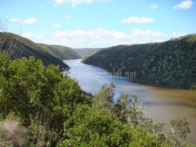 Río Tajo en la zona
