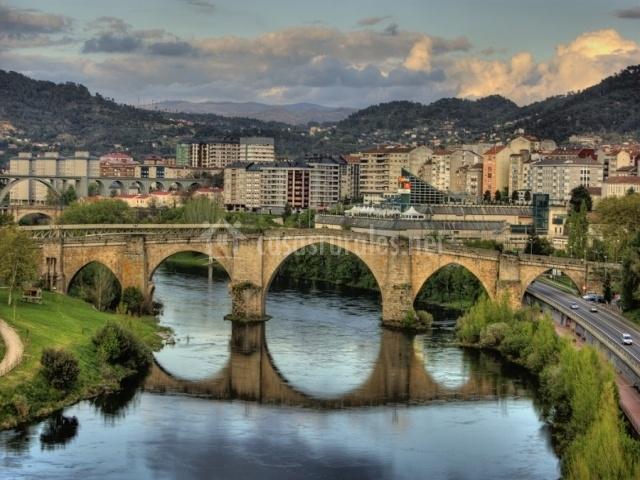 Puente Romano Matrimonio : Casa rural couto mixto en baltar orense