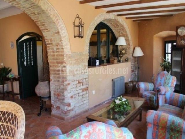 Casa rural las tinajas en obejo c rdoba - Arcos de ladrillo rustico ...