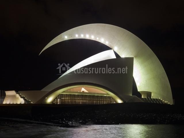 Auditorio en Santa Cruz de Tenerife