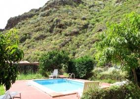 La piscina y sus vistas
