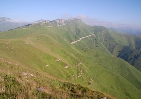 Vista de la Montaña Oriental de Cantabria