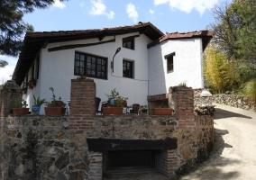 Amplias vistas de la fachada