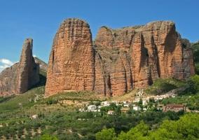 Entorno natural del pueblo de La Sotonera