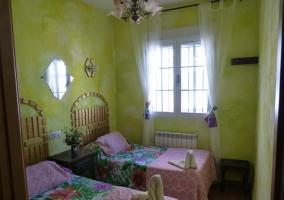 Habitación Doble Floral
