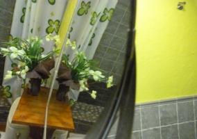 habitación floral