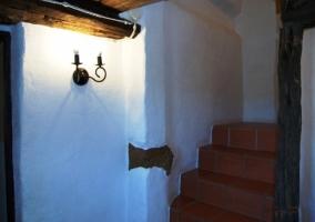 Escaleras del alojamiento