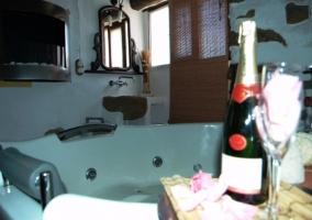 Jacuzzi en el baño