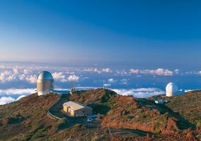 Observatorio en el Roque de los Muchachos