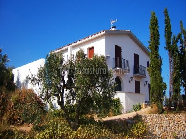 Masia rural cal piu en torrelles de foix barcelona - Casas rurales bcn ...