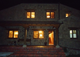 La vivienda de noche
