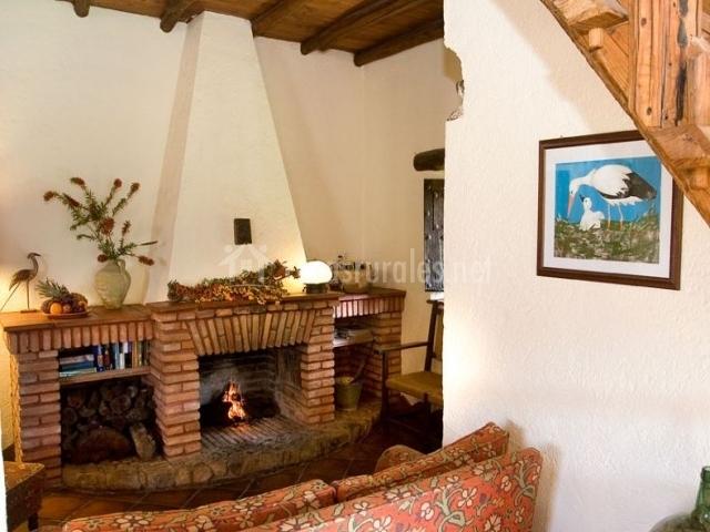 Casa rural la cig e a en alajar huelva - Casa rural con chimenea en la habitacion ...
