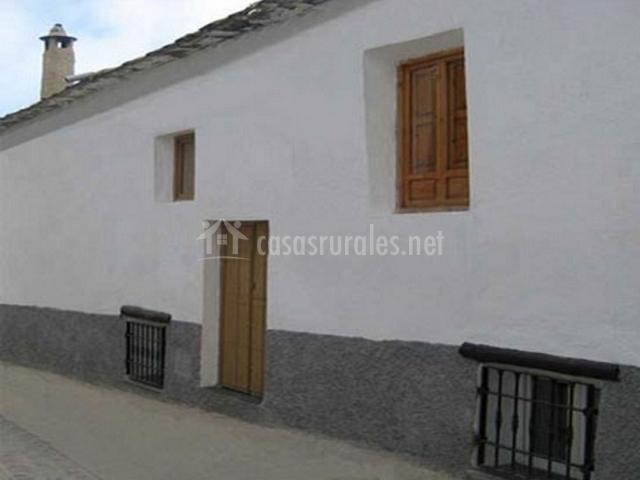 Casa las eras casas rurales en narila granada - Casas de madera en granada ...