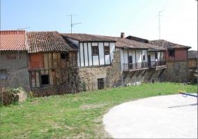 Casas típicas en Cuacos de Yuste