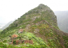 Zona de montaña en Los Silos