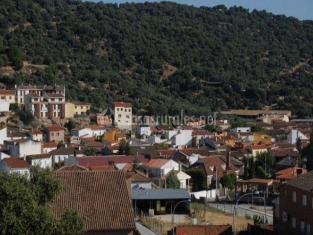 Zona del pueblo de Pepino en Toledo