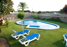 Llucmaçanes Gran. Fachada Sur - Llucmaçanes, Menorca