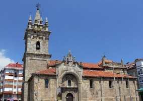 Iglesia de San Sebastián en la localidad cántabra de Reinosa