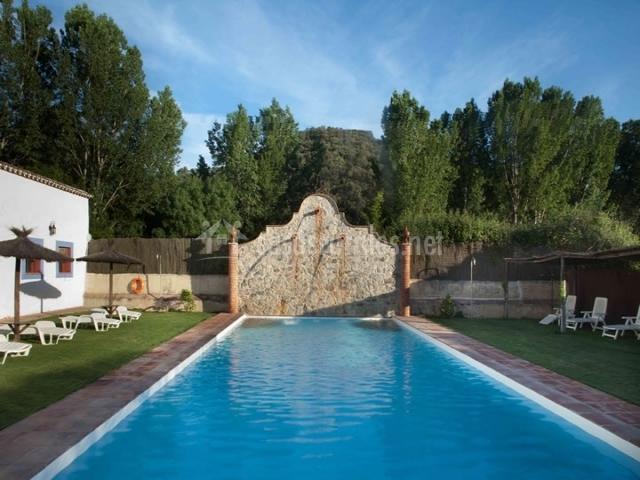 La garza real en cazalla de la sierra sevilla for Casa rural sevilla piscina