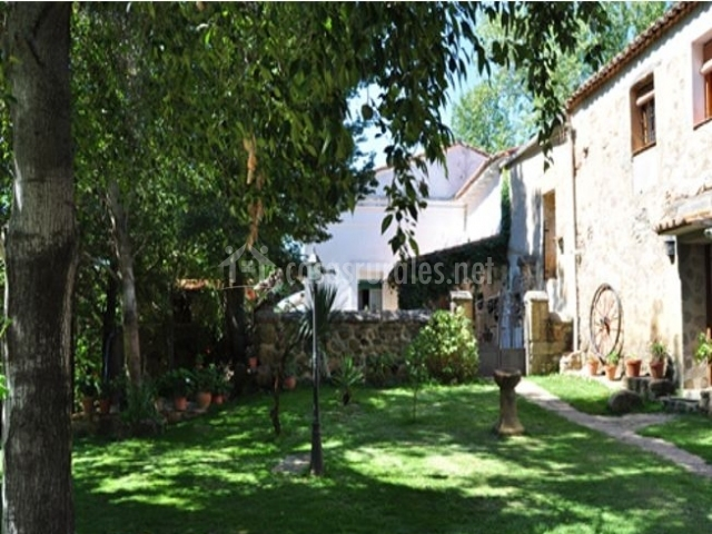 El palomar la caser a en navaconcejo c ceres - Casa rural el jardin ...