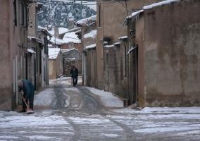 El Sabinar en invierno