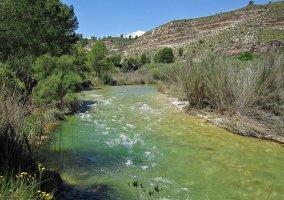 Río Segura a su paso por Moratalla