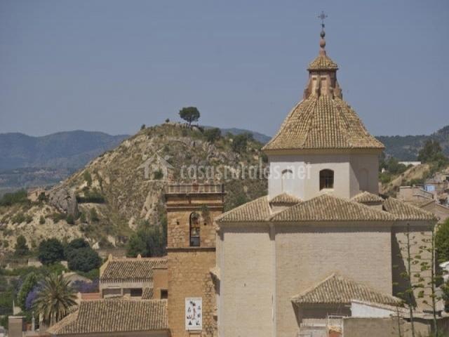 Torre del campanario del monasterio de la eEncarnación