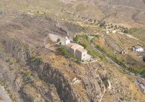 Vista aeérea del Santuario de la Virgen de la Rogativa