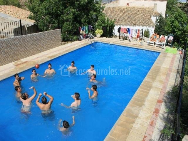 El salero iv en moratalla murcia for Complejo rural con piscina