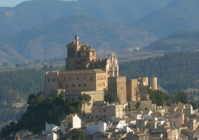 Panorámica del municipio de  Caravaca de la Cruz
