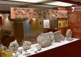 Piezas romanas en el museo arqueológico