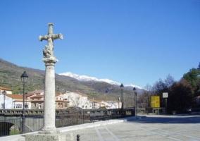 Zona del pueblo de Navaconcejo