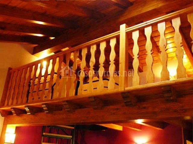 Casa eva en fontibre cantabria - Altillo de madera ...