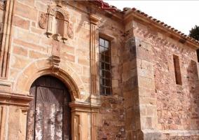 Zona de la Iglesia de La Lomba