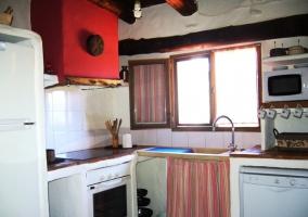 Cocina esquinada antigua